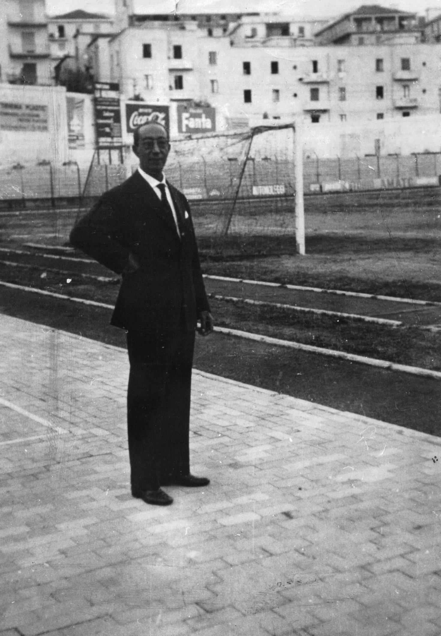 Il preparatore atletico Domenico Varricchio