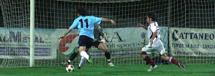 Il gol di Campolonghi