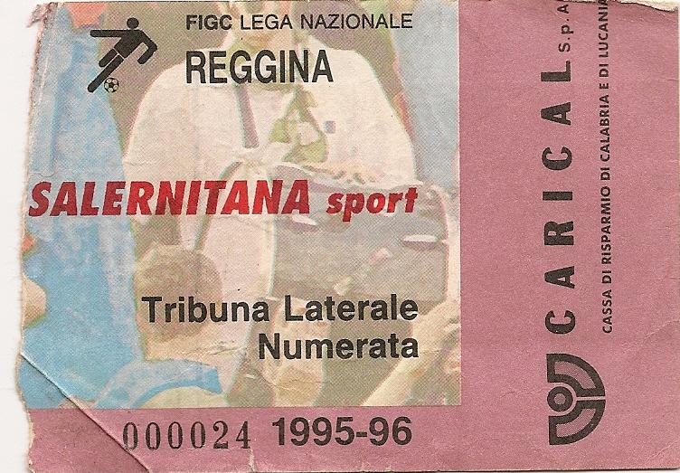 Tribuna Laterale Numerata