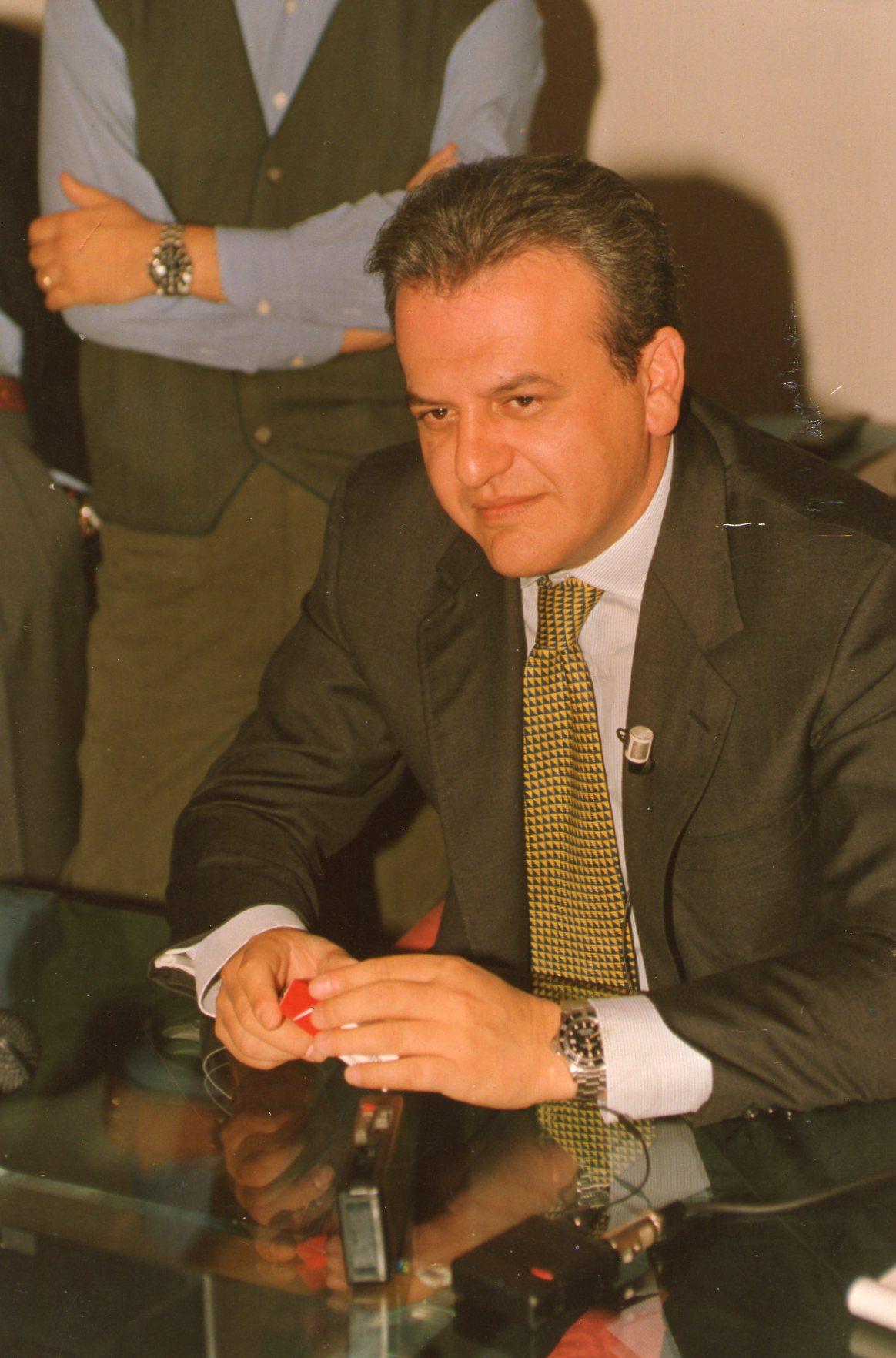 Il presidente Aliberti