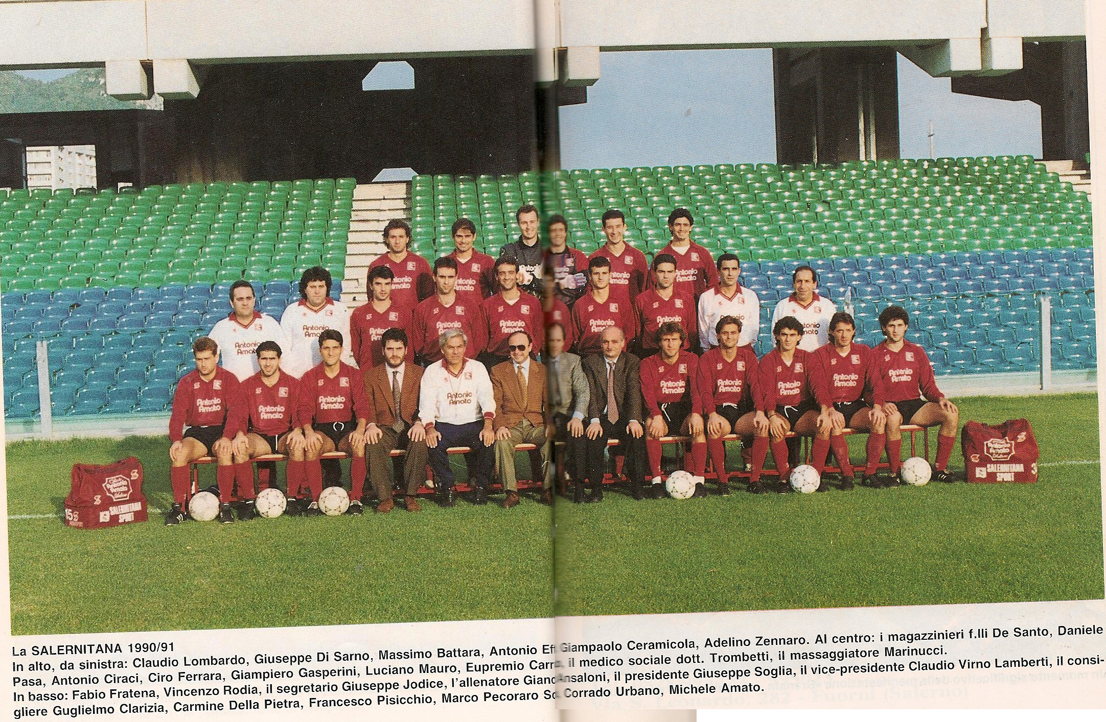 Rosa Salernitana 1990-91