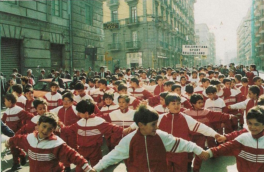 Manifestazione Giovanili Salernitana