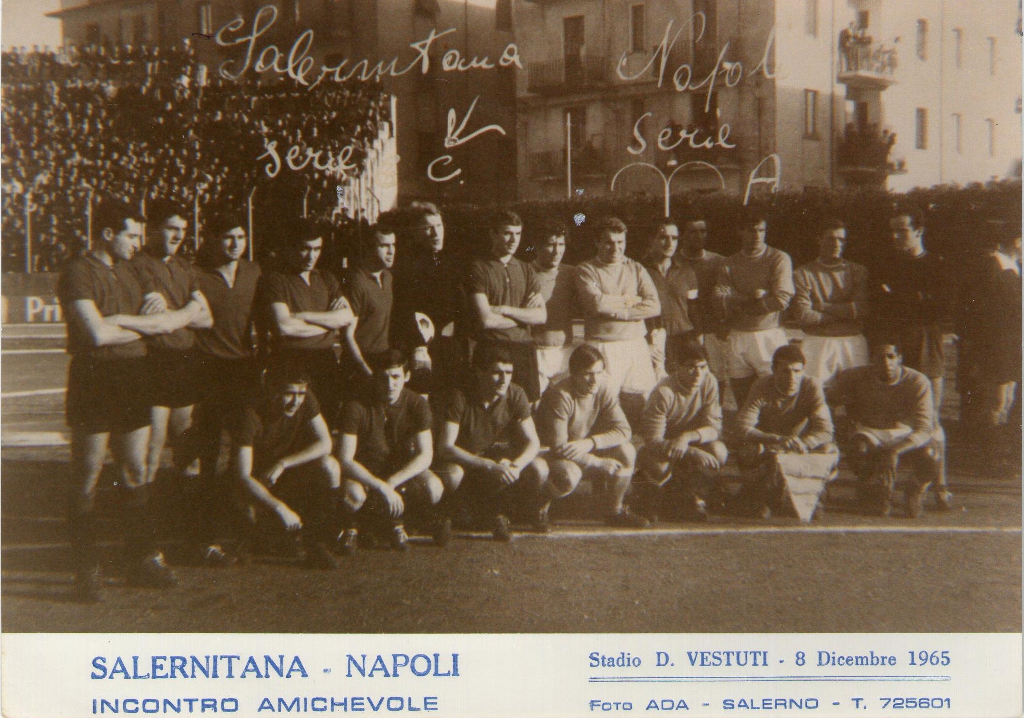 Amichevole Salernitana-Napoli 0-1