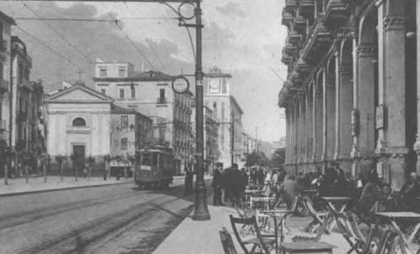 Via Roma Caffè Vittoria 1915