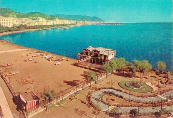 Spiaggia di Santa Teresa 1956