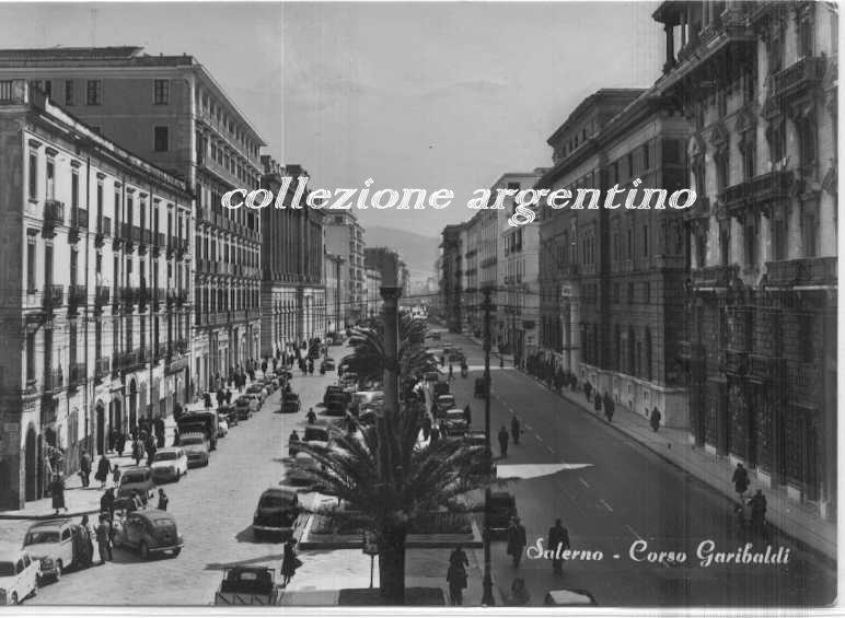 Corso Garibaldi (da Nord)  1960