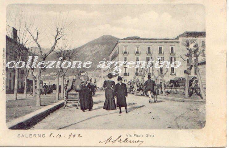 Corso Garibaldi (da Sud) 1902