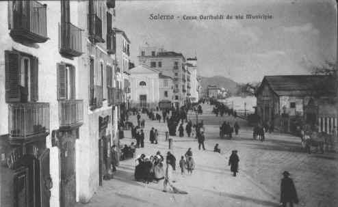 Corso Garibaldi da Via Municipio 1927