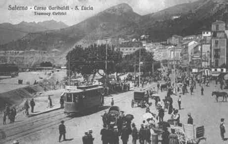 Corso Garibaldi S.Lucia Tram elettrici