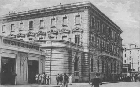 Corso Vittorio Emanuele Banca d'Italia 1934