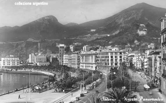 Litoranea e via Roma 1960
