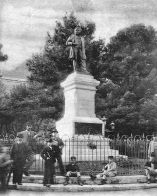 Monumento a G. Nicotera 1922