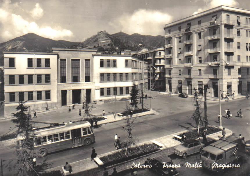 P.za Malta  Filobus Magistero 1950