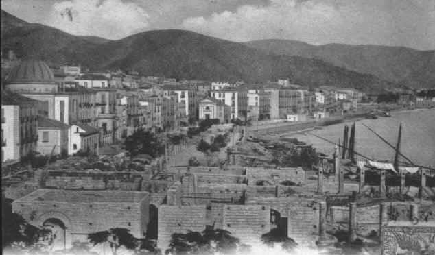 Panorama di Salerno 1863