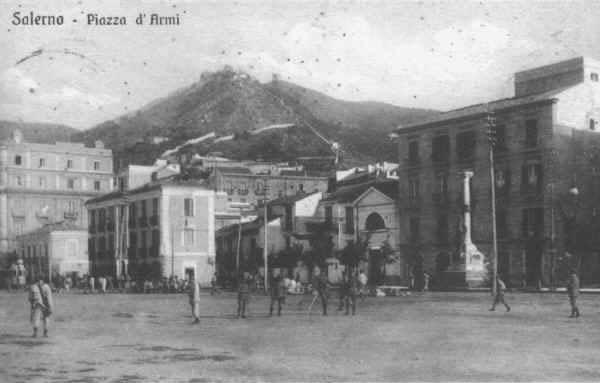 Piazza d'Armi 1908