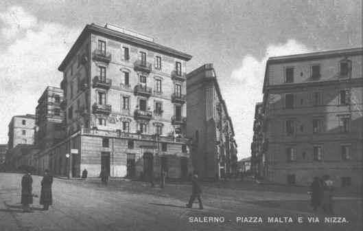 Piazza Malta e Via Nizza 1942