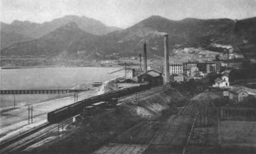 Salerno da Oriente Il Cementificio1920
