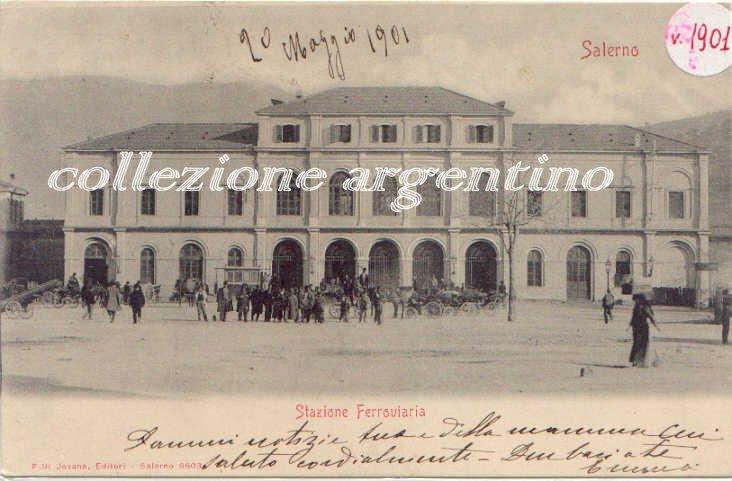 Stazione ferroviaria 1901