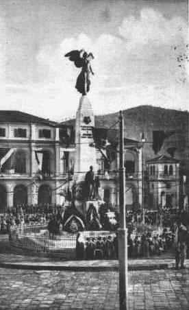 Inaugurazione monumento Caduti guerra  15-12-1923