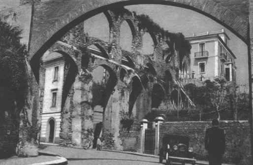 Via Arce  Acquedotto Romano 1937