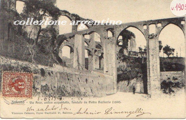Via Arce (acqued. medioevale)1905