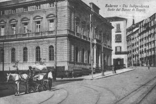 Via Indipendenza Banco di Napoli 1920