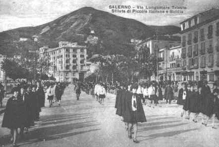 Lungomare Sfilata Piccole Italiane e Balilla 1932