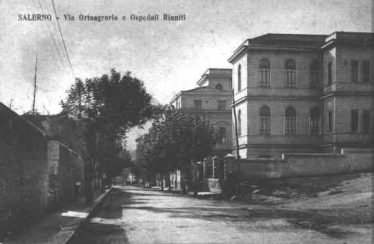 Via Ortoagrario e Ospedali Riuniti 1927