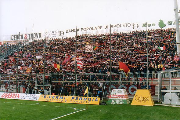 8-3-1998 Perugia - Salernitana 1-1 3000 supporters