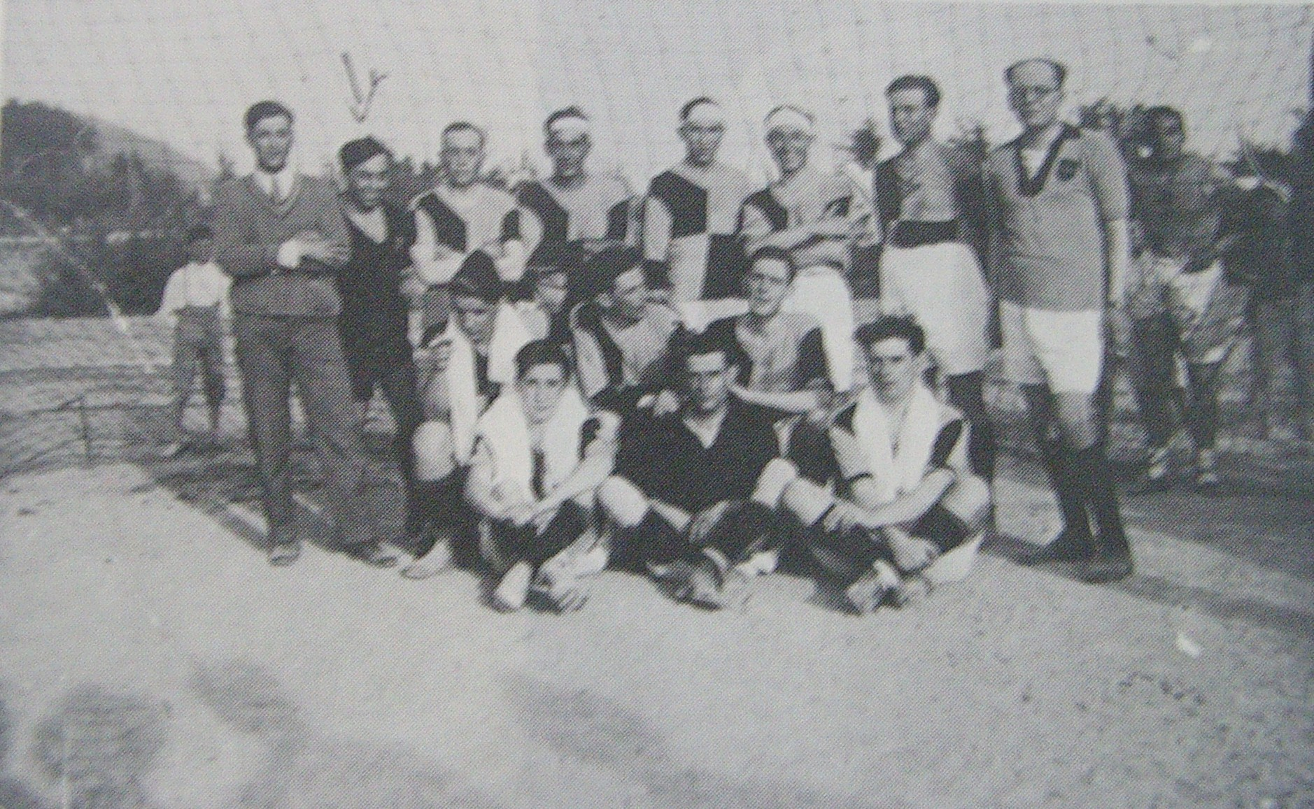 una delle prime formazioni del 1919
