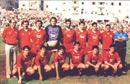 La squadra della promozione in B nel 1989-90