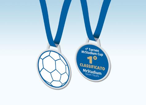 Medaglia handball linea