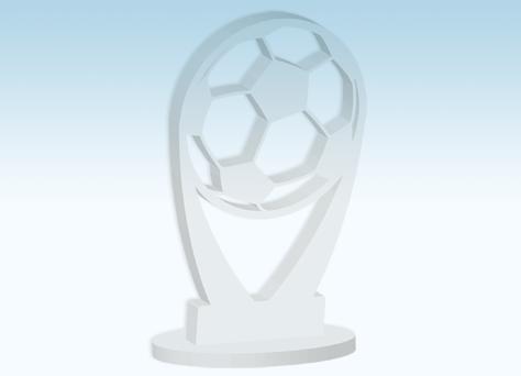 Coppa calcio linea