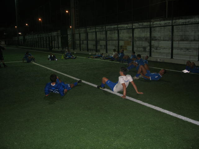 Primo allenamento Stagione 2010/2011