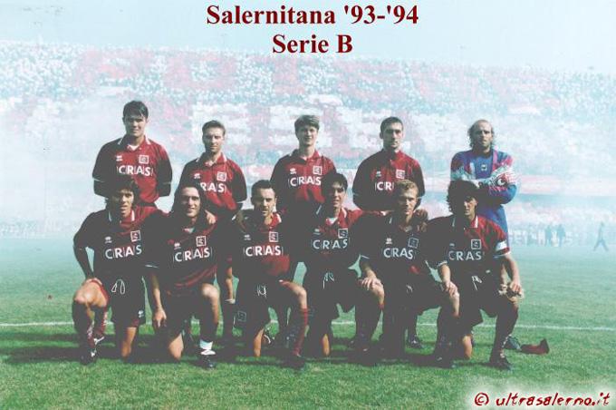 Salernitana Story Campionato Serie C1 Anno 1993 94